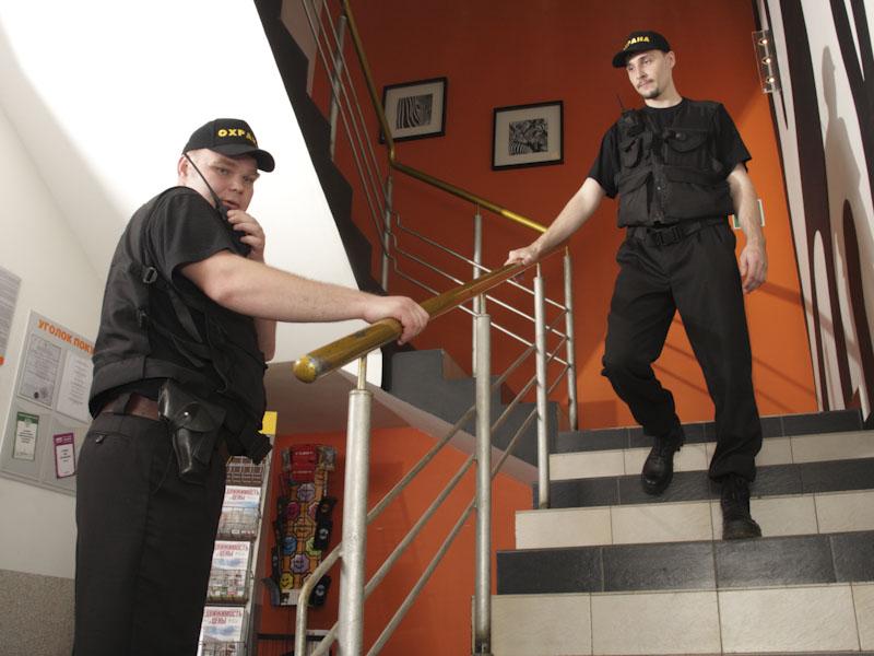 физическая охрана услуги